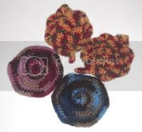 Felted 100% Wool Coasters
