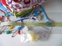 Diapering Accessories (Snappis, Pins, Liners, Creams, and Wipes Cubes)